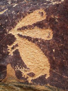 Petroglyphs in Wyoming