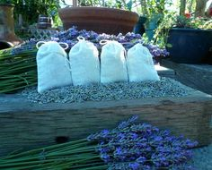Oh, to die for, the scent of lavender buds  and dried lavender flowers.  I sent such a sachet to a friend up in Northern New York, who had cancer.  She said it relaxed her and brought a bit of hope and peace.  Thank God, my friend survived the cancer.