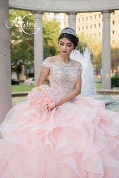 6 Quinceanera Dresses Ideas To Look Like a Princess - 15 Anos Fiesta Ball Gown Dresses, Prom Dresses, Wedding Dresses, Light Pink Quinceanera Dresses, Quinceanera Decorations, Quinceanera Party, Quinceanera Dances, Quinceanera Planning, Quinceanera Collection