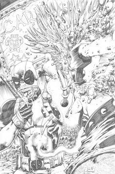 Deadpool by Jim Jimenez