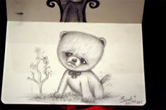 My sketch of Boo the dog :D www.brendaboo.com
