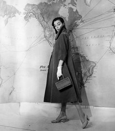 Ivy Nicholson in Fabiani, 1955  Photo by Pasquale De Antonis
