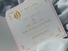 Sleeping Beauty Wedding Invitation Aurora by MagicBeyondMidnight