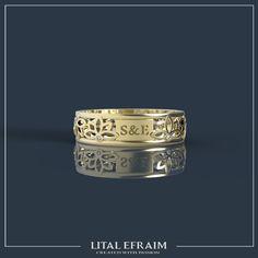 #14k #gold #yellowgold #lotus #ring #customade #bespoke #special #diamond