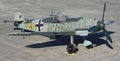 This aircraft: This Bf 109-E was deployed in October 1939. Piloted by Eduard Hemmerling, it flew primarily over France. He destroyed a British Blenheim bomber and another British plane. But his own aircraft was mortally wounded, and Hemmerling turned back toward France. His failing airplane crashed off the coast of Cap Blanc Nez, killing the 27-year-old pilot. In 1988, a man walking on the beach near Calais noticed a piece of metal sticking out of the sand – the tip of this plane's wing.
