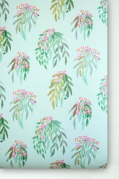 Our fabric and wallpaper line was derivedfrom diverse inspiration, and reflects the same bold color combinations and scale found in Lulie's original works of a