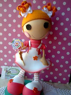 foam Lalaloopsy Lalaloopsy Party, My Doll House, Cake Tutorial, Art Dolls, Cake Toppers, Party Time, Projects To Try, Birthdays, Diy Crafts