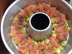 Eins meiner Lieblingsrezepte für einen Auflauf mit Lachs habe ich umgeändert für den Omnia-Backofen. Zutaten: 300g kleine Kartoffeln (in NL gibt es die fertig vorbereitet. 1 Zucchini 1 Zwiebel 1-2 …