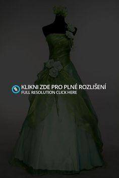 Plesové šaty zelené | Vítej v mém světě