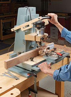 Router Mortising Machine | Woodsmith Plans