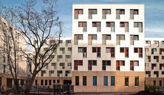 University housing, Frankfurt am Main. EQUITONE facade materials. equitone.com