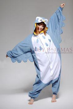 Animal Costume Owl Adult Onesie Kigurumi