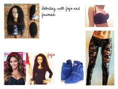 Jade Offerman ~ Debuting with Jojo and Jasmine by lucygilberthale on Polyvore featuring Philipp Plein