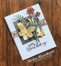 These 23 paper craftingprojects are loaded with creative ideas and Stampin' Up! products. They weredesigned by the talented members of my Stampin' Pretty Pals Virtual Communityand give you a range of styles and inspiration! Links to blogs or Pinterest have been provided (when available) for more details. Debbie Mageed –… Continue reading