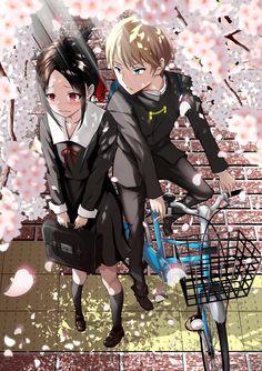 Anime kaguya-sama - Kaguya Sama Love is War Otaku Anime, Manga Anime, Film Anime, Manga Art, Anime Amor, Humour Geek, Fan Art Anime, Manga Couple, Tsundere
