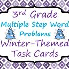 ... multiple step word problems involving addition, subtraction