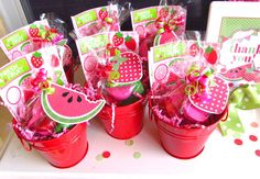 Strawberry & Watermelon Party