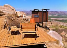 Endemico Resguardo Silvestre hotel in Valle de Guadalupe, Baja, designs by architect Jorge Garcia