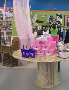 Dance Universe in Joplin, MO, is furnished with a mix of pieces from yard sales and auctions. Read all about this store in the Retailer Spotlight column of DRN's May 2012 issue.
