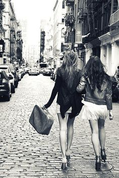 Kat and I when I visited New York city. We wouldn't leave each others side. Love you so much!