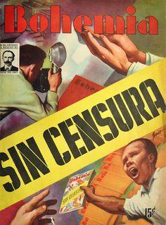 Luego de tres meses de censura, la revista vuelve a salir con aparente normalidad. l de nvoeimbre de 1953
