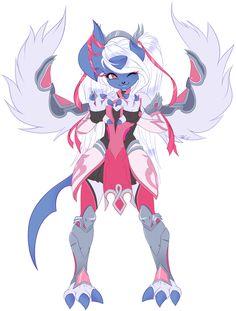 detail flat commission for NexasLikesCows! mega absol girl as pink mercy! so cute! Com: Pink Absol Sexy Pokemon, Pokemon Fan Art, Cool Pokemon, Anime Furry, Anime Wolf, Furry Girls, Kawaii, Cyberpunk Art, Pokemon Pictures