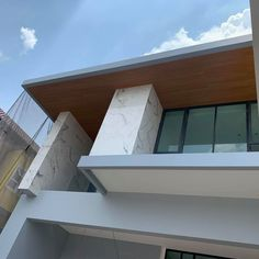 Product: Maxis Soffit Model: QB-002 Color: Teak #wpc #woodcomposite #recycoex #ecofriendlyproducts #ecofriendly   For more info visit our website www.maxiswood.com For inquiries email us at nelly@maxiswood.com World Of Concrete, Wind Damage, Wood Facade, Wood Composite, Furniture Factory, Resort Style, Simple Elegance, Beautiful Buildings, Maxis