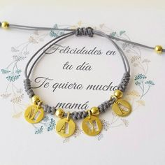 Bolboreta by Iria (complementos) Jewellery Diy, Jewelry, Collars, Diy And Crafts, Diy Projects, Charmed, Bracelets, Strands, Diy Kid Jewelry