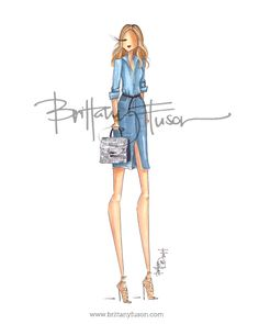 Brittany Fuson: how to wear denim| Be Inspirational❥|Mz. Manerz: Being well dressed is a beautiful form of confidence, happiness & politeness