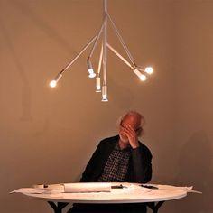 Decken-Strahlerleuchte aus rohem Kupfer KVIST *Designer Jonas Bohlin (Photo by Anton Sällberg)