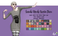 Grouchy Slouchy Sweater Dress - Deetron Sims