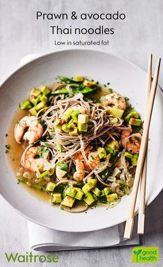 A Short Vegetarian Guide For thai vegetarian food rice noodles Fish Recipes, Seafood Recipes, Asian Recipes, Cooking Recipes, Recipies, Vermicelli Recipes, Rice Vermicelli, Waitrose Food, Comidas Fitness