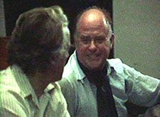John Marshall interviewing Jean Rouch in 1977 at the first Margaret Mead film festival in New York.   They were pioneers in both fields of ethnographic films and cinéma-vérité, and shared a love of Africa, and of filmmaking. Their decades-long friendship was also fueled by a long list of other mutual interests. Margaret Mead, John Marshall, Documentary Film, Anthropology, Film Festival, Filmmaking, Festivals, Fields, Documentaries