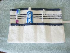 Toiletry kit for camping