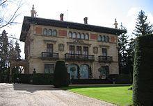 Alava Vitoria - Palacio de Ajuria Enea, residencia del lehendakari.