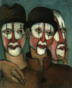 Francis Picabia, trois mimes - 1936 on ArtStack #francis-picabia #art
