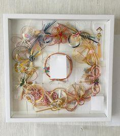 勿体なくて捨てられないから!ご祝儀袋の『水引』の可愛すぎるリメイク方法* | marry[マリー] Ring Pillows, Pillow Box, Floral Wreath, Wreaths, Bridal, Fall, Handmade, Wedding, Japanese Style