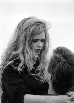 """Adrienne Shelly and Robert John Burke in """"The Unbelievable Truth"""" (1989, Hal Hartley)"""