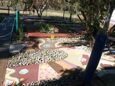 Very innovative surfaces and inviting spaces for children to play