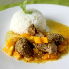 Fascinate your guests with this dish. A Mango Pork Stew Recipe