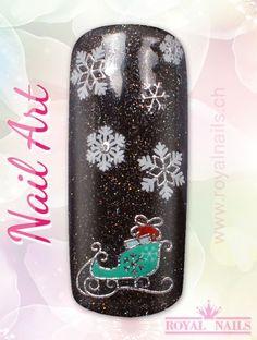 Christmas - Weihnachten Nail Art Design Inspiration Nr. 252 #christmas #weihnachten #santa-claus #nail-art #nailart #winter-holidays