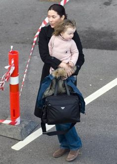 Princess Mary and Princess Isabella...Prada bag