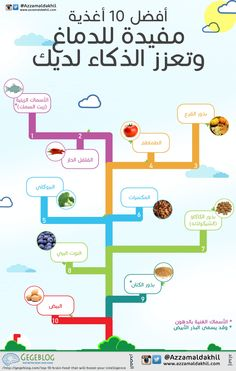 أفضل 10 أغذية مفيدة للدماغ وتعزز الذكاء لديك  http://azzamaldakhil.com/azzam/2013/12/27/%d8%a3%d9%81%d8%b6%d9%84-10-%d8%a3%d8%ba%d8%b0%d9%8a%d8%a9-%d9%85%d9%81%d9%8a%d8%af%d8%a9-%d9%84%d9%84%d8%af%d9%85%d8%a7%d8%ba-%d9%88%d8%aa%d8%b9%d8%b2%d8%b2-%d8%a7%d9%84%d8%b0%d9%83%d8%a7%d8%a1/