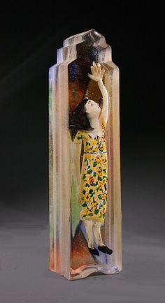 """""""Dora Maar"""" glass by Stephanie Trenchard"""