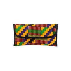 NOVICA Cotton Multicolored Printed Clutch Handbag from Ghana ($35) ❤ liked on Polyvore featuring bags, handbags, clutches, accessories, clothing & accessories, zipper handbag, polka dot handbag, colorful handbags, multi colored handbags and cotton purse