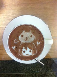 """Kawaii"" Characters Latte Art! (2/10)"