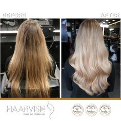 Made by Haarvisie. Wavy Hair, Blonde Hair, Full Head Highlights, Top Stylist, Bond, Latest Fashion Trends, Hair Care, Hair Makeup, Hair Color