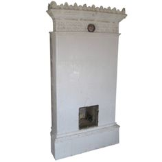 Swedish Tile Stove - Rare   From a unique collection of antique and modern fireplaces and mantels at https://www.1stdibs.com/furniture/building-garden/fireplaces-mantels/