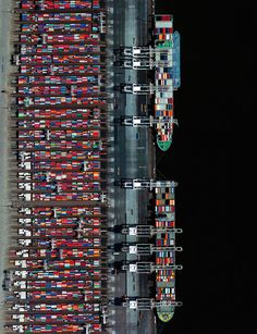 blazepress: Aerial View of Port of Rotterdam, Netherlands. blazepress: Aerial View of Port of Rotterdam, Netherlands. Aerial Photography, Photography Photos, Rotterdam Port, Rotterdam Netherlands, Birds Eye View, Water Crafts, Aerial View, Scenery, World