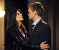 Robin and Barney (Cobie Smulders and Neil Patrick Harris) - How I Met Your Mother
